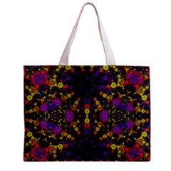 Color Bursts  All Over Print Tiny Tote Bag by OCDesignss