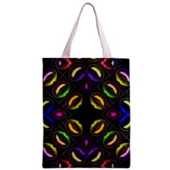 Sassy Neon Lips  All Over Print Classic Tote Bag by OCDesignss