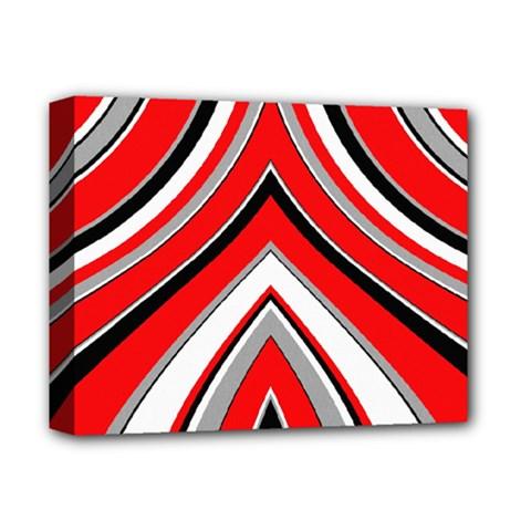Pattern Deluxe Canvas 14  X 11  (framed) by Siebenhuehner