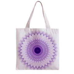 Mandala All Over Print Grocery Tote Bag by Siebenhuehner