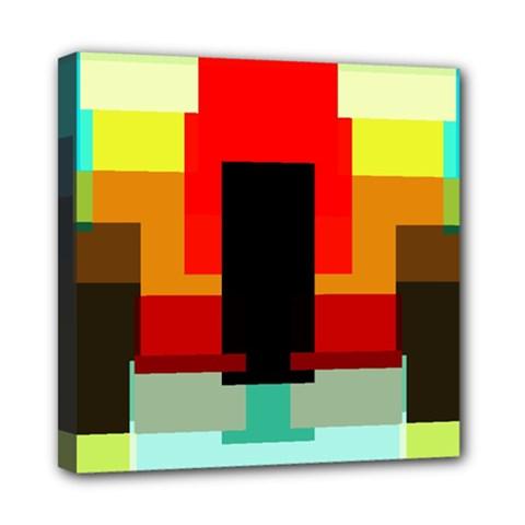 Pattern Mini Canvas 8  X 8  (framed) by Siebenhuehner