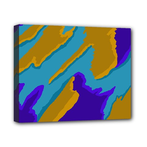 Pattern Canvas 10  X 8  (framed) by Siebenhuehner