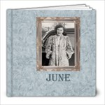 June Charles - 8x8 Photo Book (20 pages)
