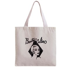 Vintage Beauty  All Over Print Grocery Tote Bag by OCDesignss