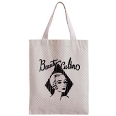 Vintage Beauty  All Over Print Classic Tote Bag by OCDesignss