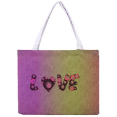 Love Abstract  All Over Print Tiny Tote Bag by OCDesignss