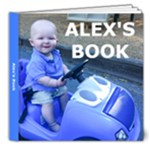 Alex s Book 1 - 8x8 Deluxe Photo Book (20 pages)