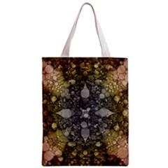Abstract Earthtone  All Over Print Classic Tote Bag