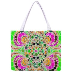 Florescent Abstract  All Over Print Tiny Tote Bag by OCDesignss