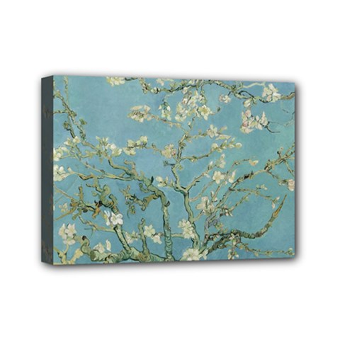 Vincent Van Gogh, Almond Blossom Mini Canvas 7  X 5  (framed) by Oldmasters