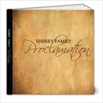 Sherry Proclamation Book - 8x8 Photo Book (20 pages)