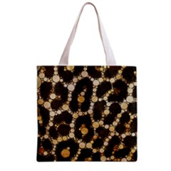 Cheetah Abstract  All Over Print Grocery Tote Bag by OCDesignss