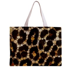 Cheetah Abstract  All Over Print Tiny Tote Bag by OCDesignss