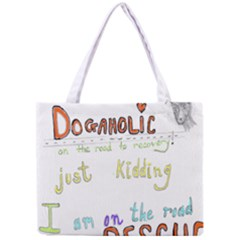 D0gaholic All Over Print Tiny Tote Bag
