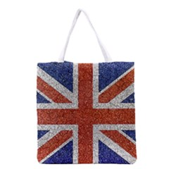 England Flag Grunge Style Print All Over Print Grocery Tote Bag by dflcprints