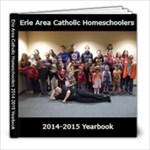 2014-2015 Yearbook - 8x8 Photo Book (20 pages)