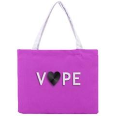 Vape Heart All Over Print Tiny Tote Bag by OCDesignss