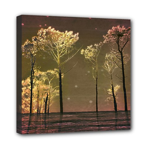 Fantasy Landscape Mini Canvas 8  X 8  (framed) by dflcprints