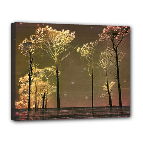 Fantasy Landscape Canvas 14  X 11  (framed) by dflcprints