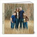 2014 Monson Family w Noora - 8x8 Photo Book (20 pages)