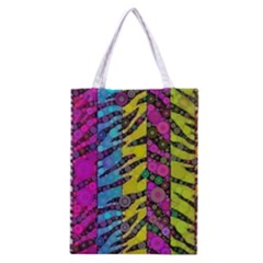 Crazy Animal Print Abstract  All Over Print Classic Tote Bag