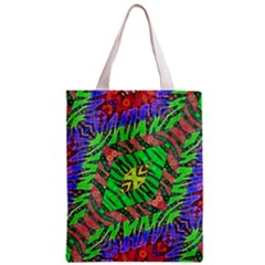 Zebra Print Abstract  All Over Print Classic Tote Bag by OCDesignss