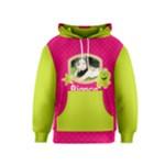 Kids Hoodie: Monsters2 Pink - Kids  Pullover Hoodie