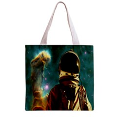 Lost In The Starmaker All Over Print Grocery Tote Bag by icarusismartdesigns
