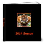 2014 Bengals Album - 8x8 Photo Book (20 pages)