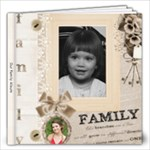Family History Book - 12x12 Photo Book (20 pages)
