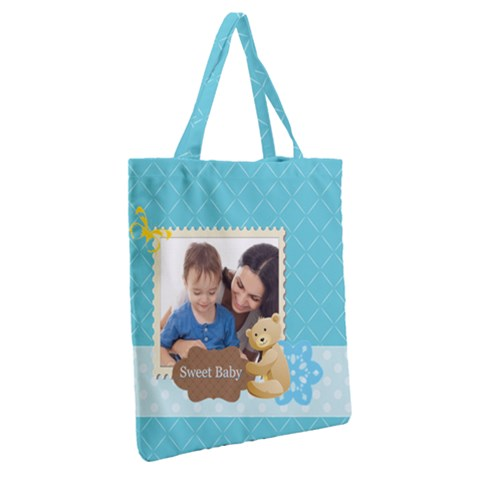 Grocery Tote Bag Back