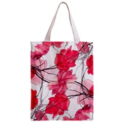 Floral Print Swirls Decorative Design Classic Tote Bag by dflcprints