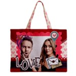 love - Zipper Mini Tote Bag