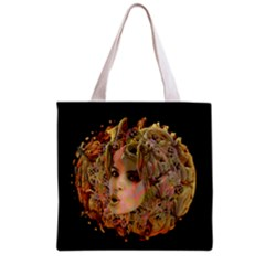 Organic Planet Grocery Tote Bag by icarusismartdesigns