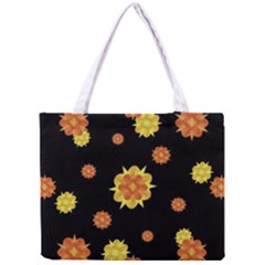 Floral Print Modern Style Pattern  Tiny Tote Bag by dflcprints