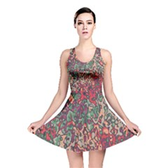 Color Mix Reversible Skater Dress