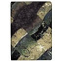 Geometric Abstract Grunge Prints in Cold Tones Apple iPad Air 2 Flip Case View1