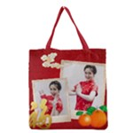 chinese new year - Grocery Tote Bag