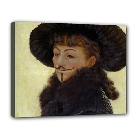 Kathleen Anonymous Ipad Canvas 14  X 11  (framed) by AnonMart