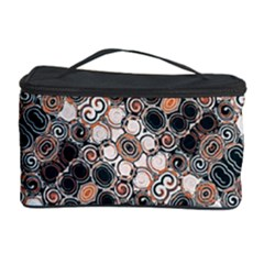 Modern Arabesque Pattern Print Cosmetic Storage Case by dflcprints