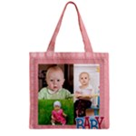 baby - Zipper Grocery Tote Bag