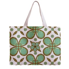 Luxury Decorative Pattern Collage Tiny Tote Bag by dflcprints