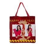 new year - Grocery Tote Bag