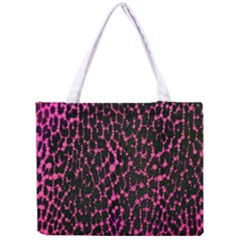 Hot Pink Leopard Print  Tiny Tote Bag