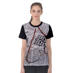 Crossword Genius Women s Cotton Tee