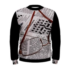 Crossword Genius Men s Sweatshirt by StuffOrSomething
