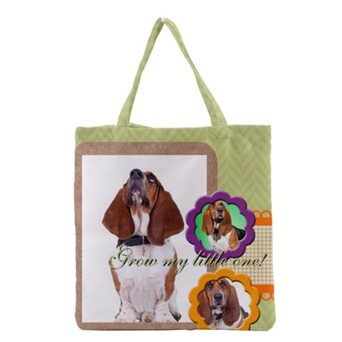 Grocery Tote Bag Front