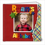 ryan s alphabet - 8x8 Photo Book (20 pages)