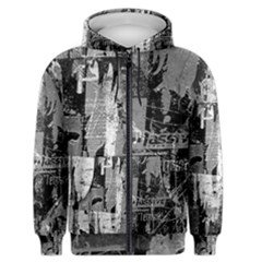 Urban Graffiti Men s Zipper Hoodie by ArtistRoseanneJones