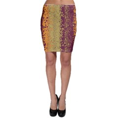 Scattered pieces Bodycon Skirt